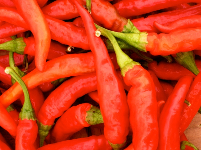 cayenne peppers @ HBF (A. Gross, 2013)